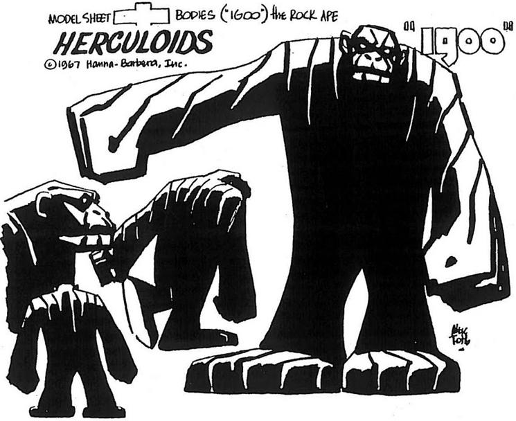 Saturday Morning Cartoon Super Heroes The Herculoids