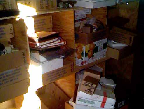 Twilight Zone -- boxes stacked