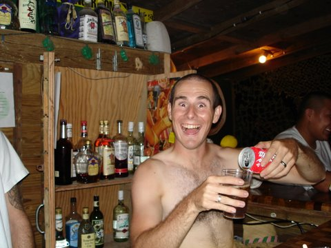 The EOD Bar - Camp Justice, Diego Garcia