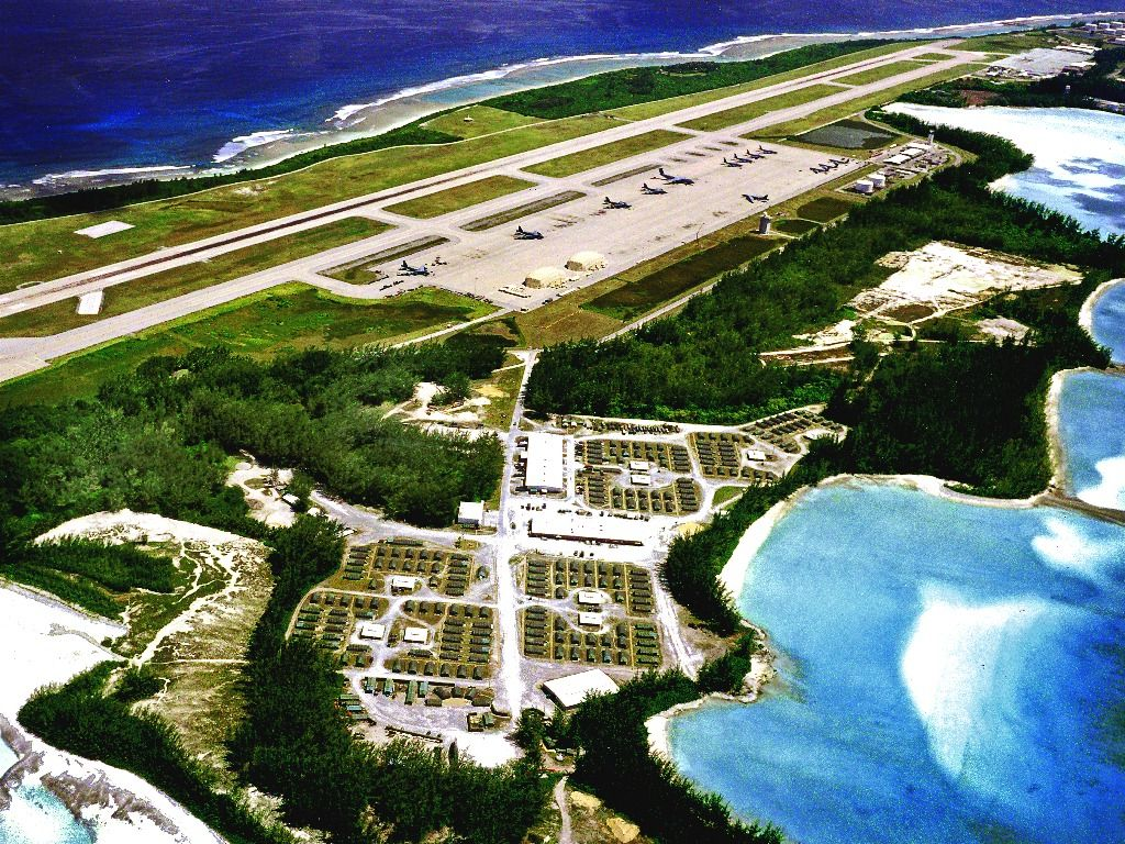 & Aerial Photos of Diego Garcia